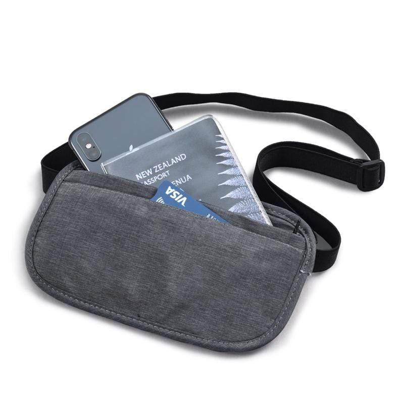 RFID防盜拷貼身收納頸掛/腰包