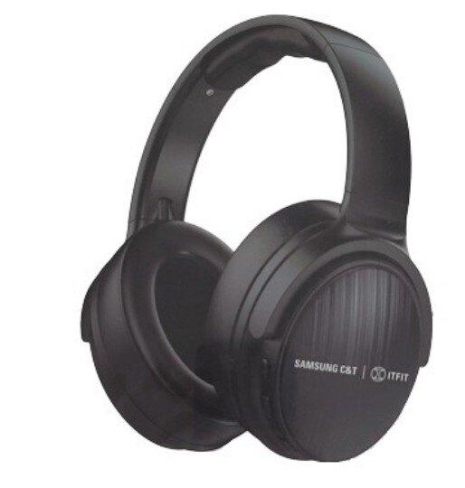 【SAMSUNG】Samsung C&T ITFIT 無線藍牙重低音耳罩式耳機黑色  好買網