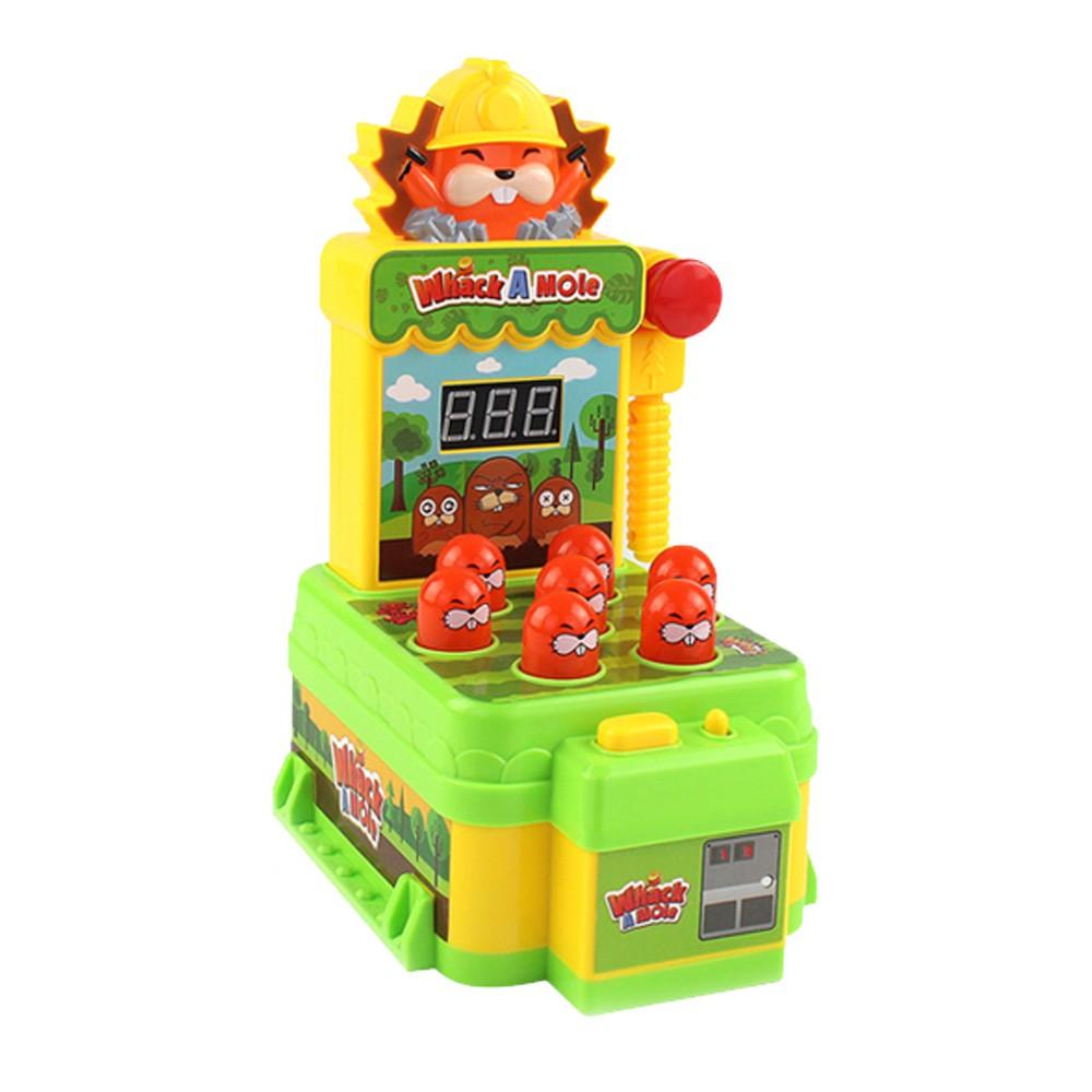 桌遊玩具 迷你桌上型 打地鼠遊戲機 KDL888-0【酷比樂】