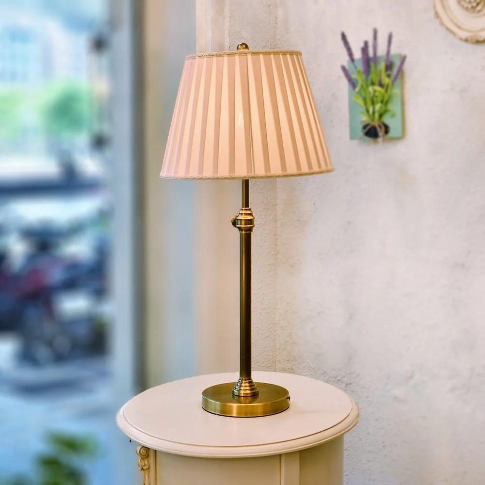 工業風 美式鄉村風可調高度仿古銅桌燈 Daisy A-T002-1|現代風|簡約設計|客製化流行水晶燈飾【實體門市】
