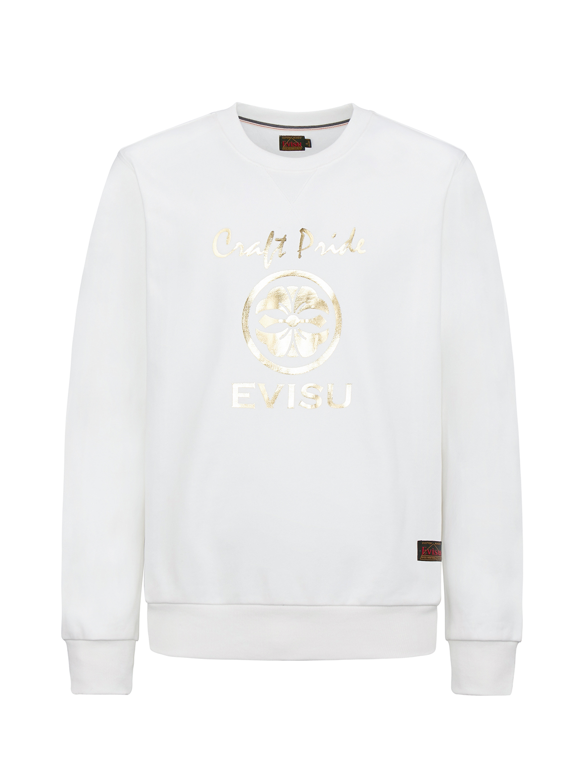 Kamon and Daicock Foil Print Sweatshirt