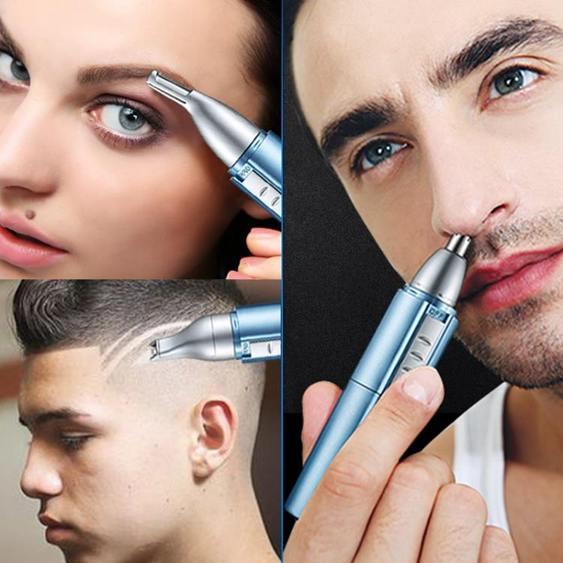 鼻毛修剪器 鼻毛修剪器女男士男電動修刮剃鼻毛剪手動去剃毛器充電式剪刀男用