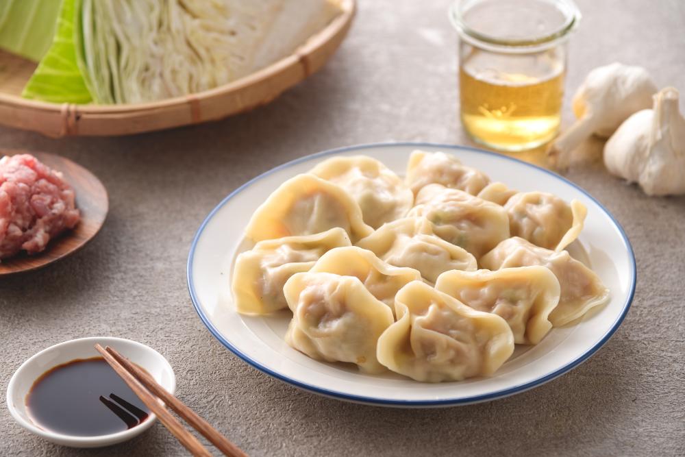 高麗菜水餃 (40入)
