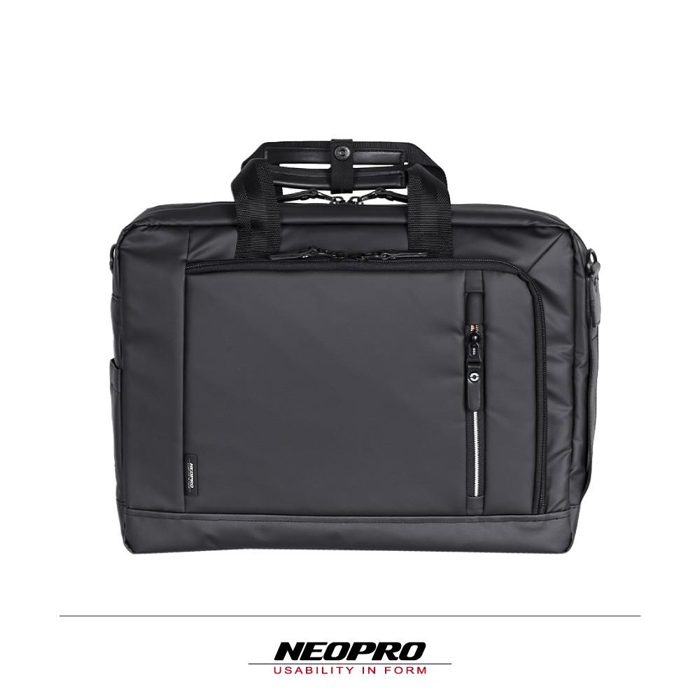 NEOPRO 日本設計 防水耐磨 可肩背 後背 手提 電腦公事包