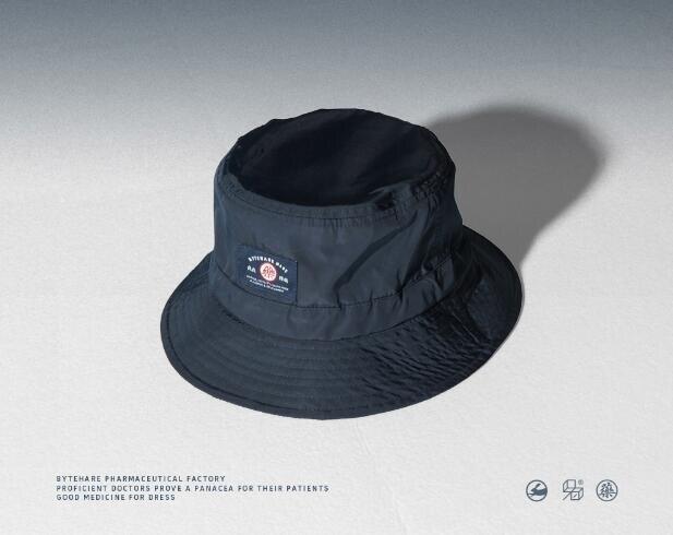 防水反光布條漁夫帽男女防曬遮陽可調節盆帽休閒