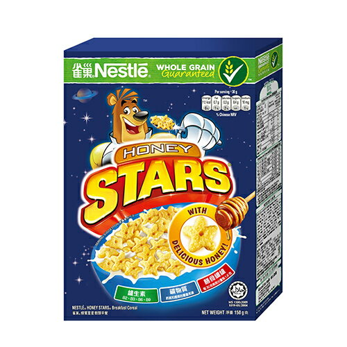 雀巢蜂蜜星星穀類早餐脆片-150g