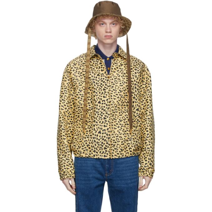 Gucci 棕色 GG 双面渔夫帽