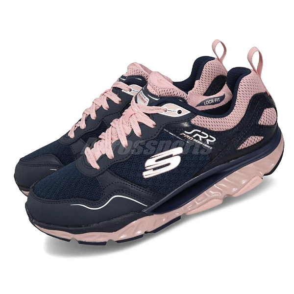 Skechers 慢跑鞋 SRR Pro-Resistance-Runaway 藍 粉紅 女鞋 運動鞋 【ACS】 88888338NVPK