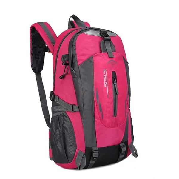 後背包 跨境新款戶外登山包男女士大容量雙肩包歐美運動戶外旅行旅游背包