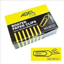 力大牌ABEL 00121 32mm 瑞士強力迴紋針 40入/盒