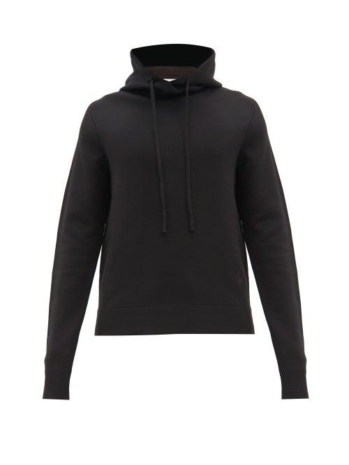 Bottega Veneta - Wool-blend Hooded Sweatshirt - Mens - Black