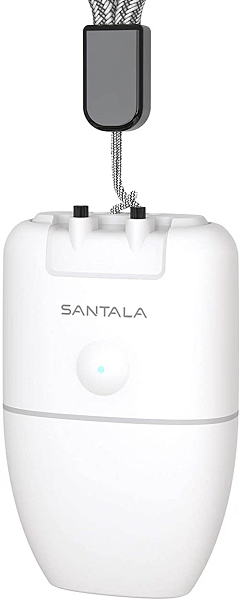 SANTALA【日本代購】空氣淨化器 USB充電 車載 負離子2000萬/cm³