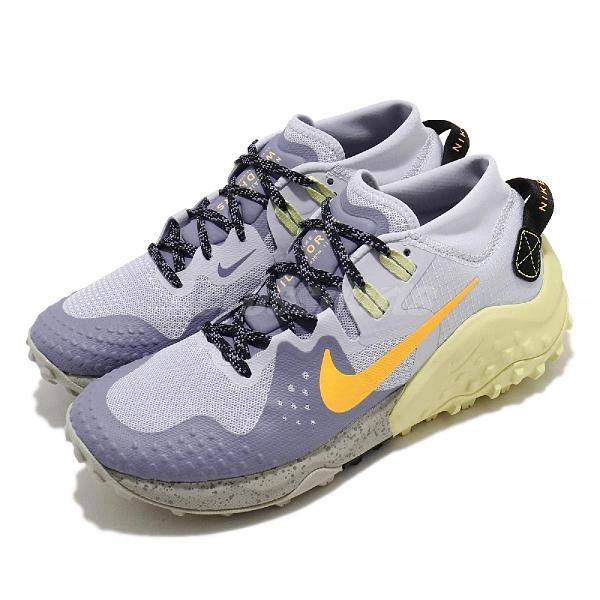 Nike 慢跑鞋 Wmns Wildhorse 6 紫 黃 女鞋 越野跑鞋 戶外 運動鞋【ACS】 BV7099-401