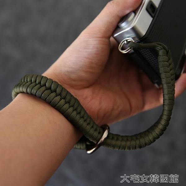相機帶相機腕帶手繩微單單反佳能索尼富士尼康拍立得防丟掛繩編織手腕帶 【快速出貨】