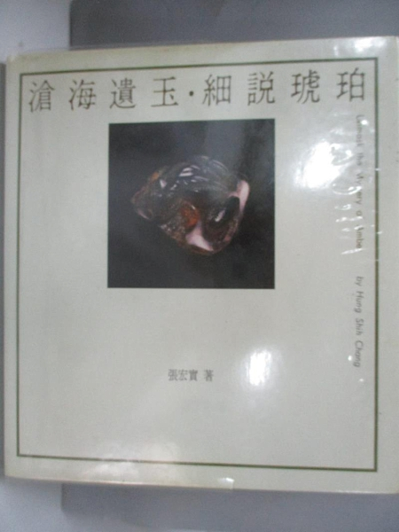 【書寶二手書T4/收藏_DJ3】滄海遺玉.細說琥珀_張宏實