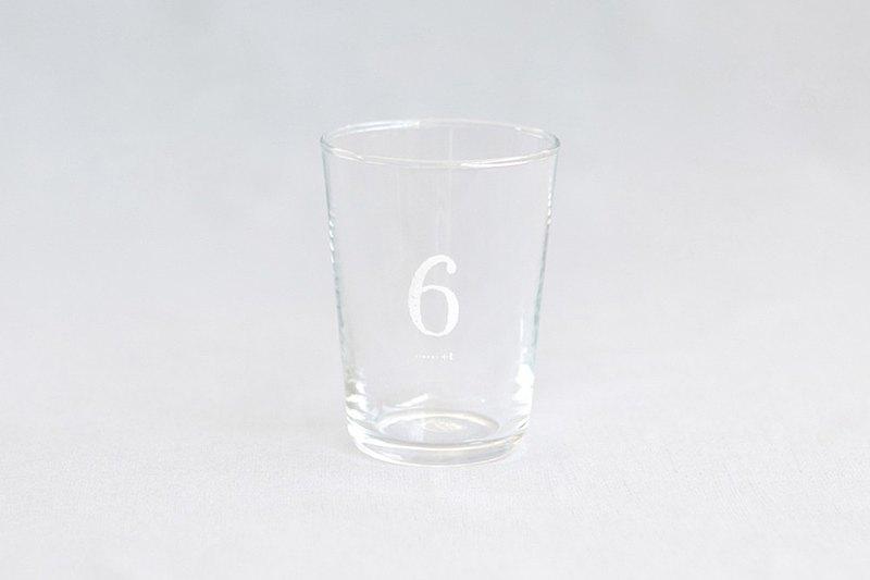 【+t企劃】數字杯-白 6