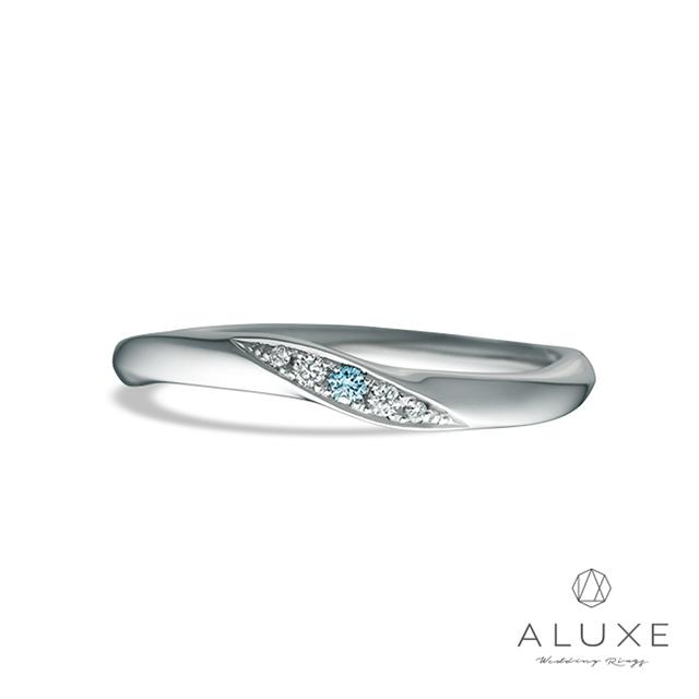 專屬訂製 ALUXE 亞立詩Cinderella-PT999鉑金寶石女戒