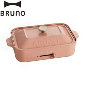 送矽膠袋❤日本 BRUNO 多功能電烤盤 (平烤盤/章魚燒) 珊瑚紅