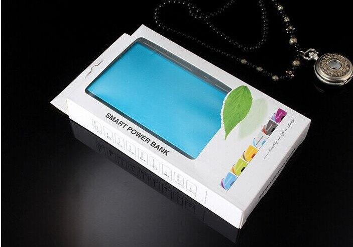 行動電源 超薄行動電源天書聚合物20000毫安通用型小巧充電寶迷你定制LOGO 全館限時8.5折特惠!