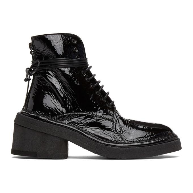 Marsell 黑色 Burraccio 踝靴