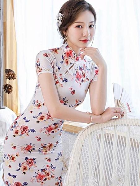 新款改良版旗袍顯瘦修身
