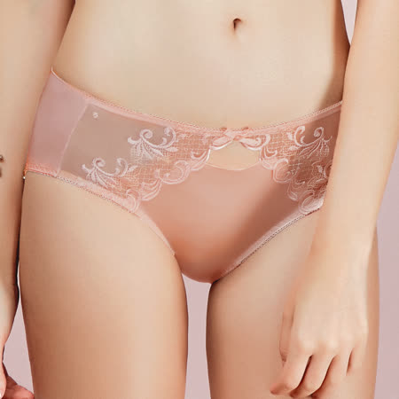 【EASY SHOP】唯愛PH5.5 中低腰平口褲(柔嫩粉)