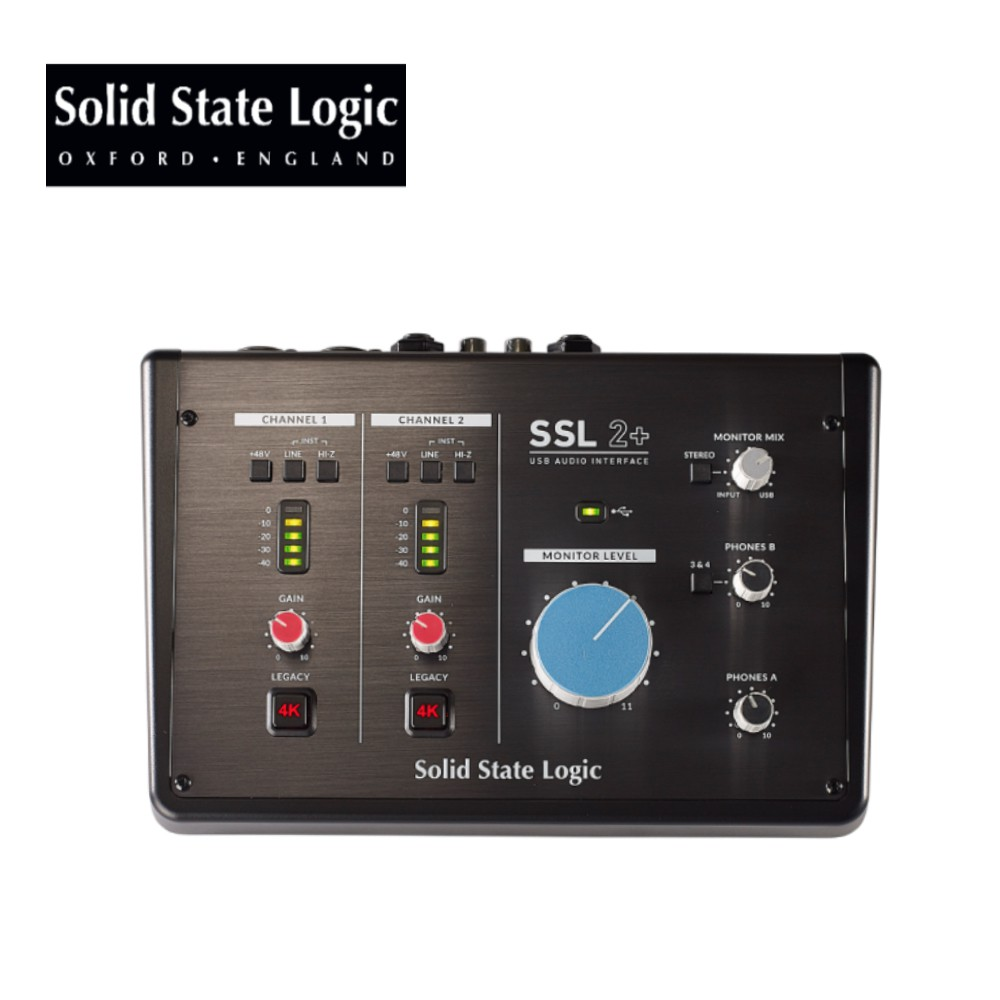 Solid State Logic SSL2+ USB 錄音介面【敦煌樂器】