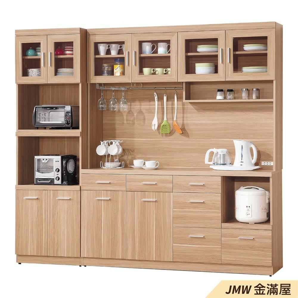 160cm北歐餐櫃收納 實木電器櫃 廚房櫃 餐櫥櫃 碗盤架 中島大理石金滿屋尺餐櫃-j380-0