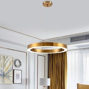 【H&R安室家】40cm LED同心圓吊燈