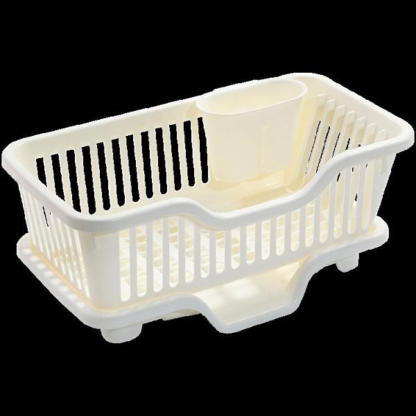 家用廚房瀝水碗架台面碗櫃濾水置物架收納盒碗碟瀝水籃放碗筷餐具 韓美e站ATF