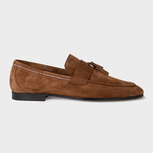 Men's Brown Suede 'Hilton' Loafers