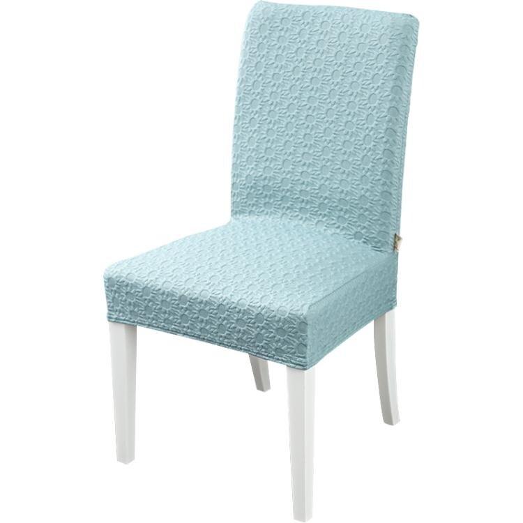 連體彈力椅子套罩家用通用萬能凳子套現代簡約酒店餐桌椅套裝布藝(4個裝)