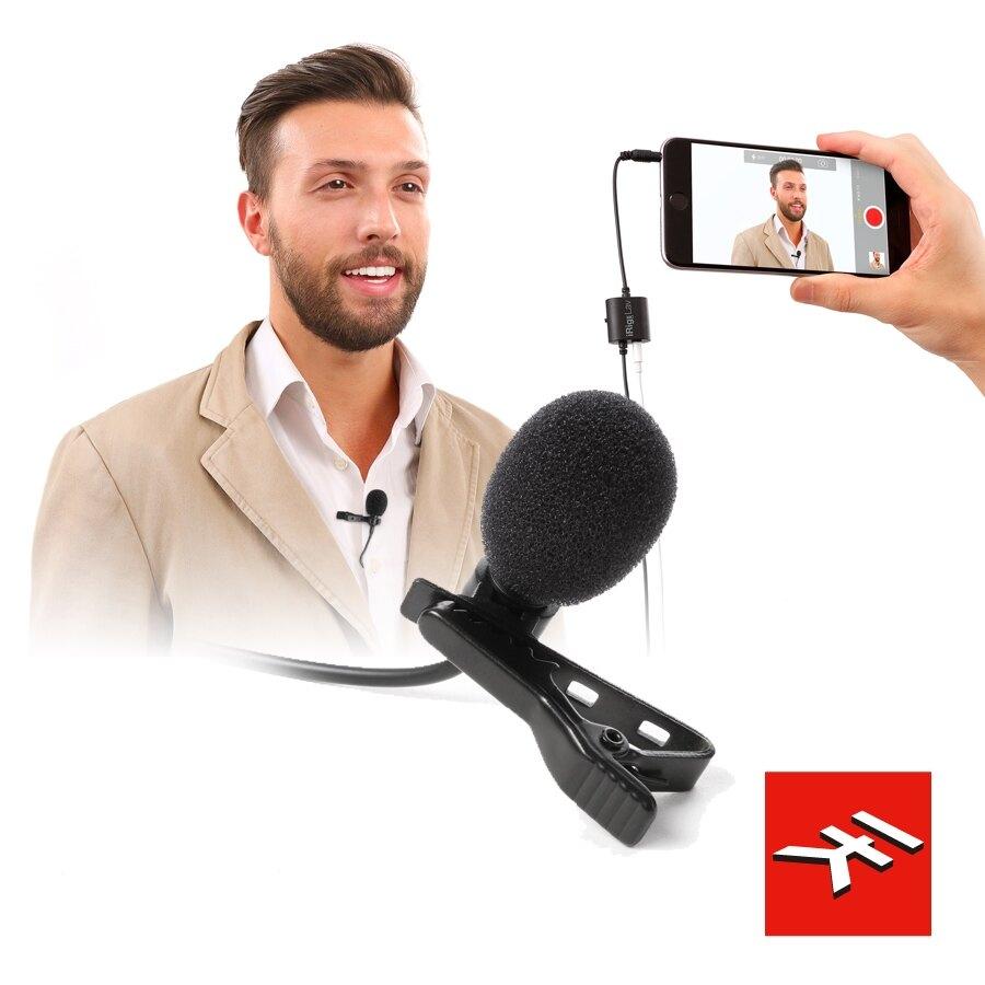 IK Multimedia iRig Mic Lav 領夾式 迷你 電容 麥克風 | 金曲音響