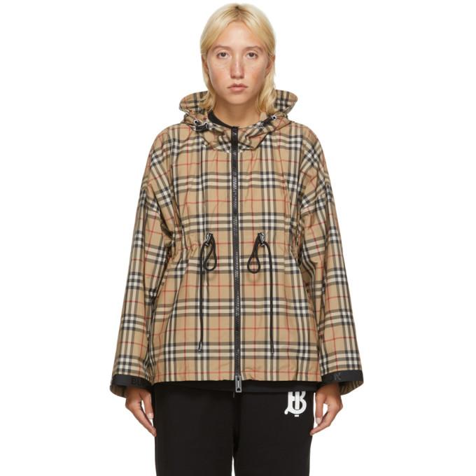Burberry 驼色 Backton 夹克