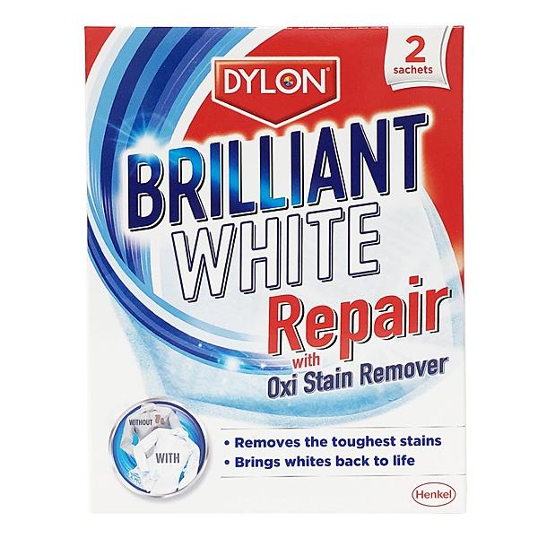 英國 Dylon 衣物亮白去汙清潔劑 每盒2包入 (Brilliant White Repair)