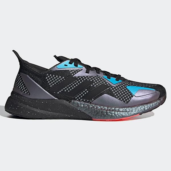 ADIDAS X9000L3 男鞋 慢跑 休閒 Boost中底 緩衝 網布 輕量 黑 藍 紫【運動世界】EH0057