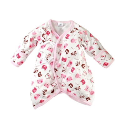 魔法Baby 包屁衣 台灣製秋冬厚款嬰幼兒護手蝴蝶衣 連身衣 k61166