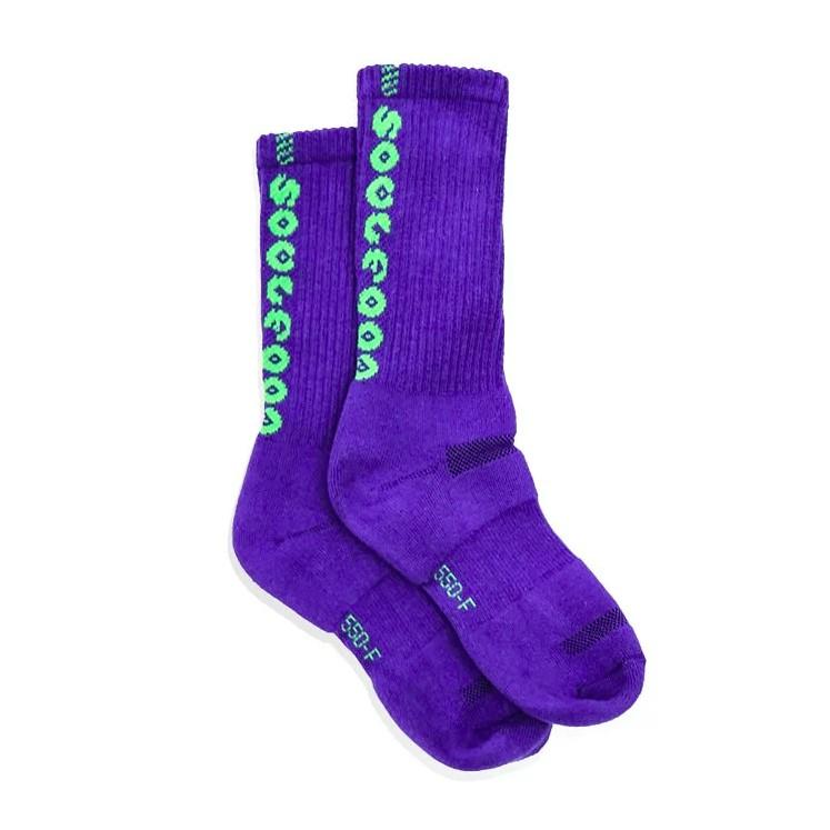 SOULFOOD 19 S/S 萬花筒 機能運動襪 果綠 / 紫綠 兩雙優惠包