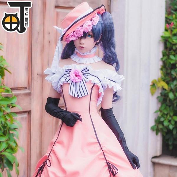夏爾cos服黑執事夏爾女裝cos服cosplay洋裝