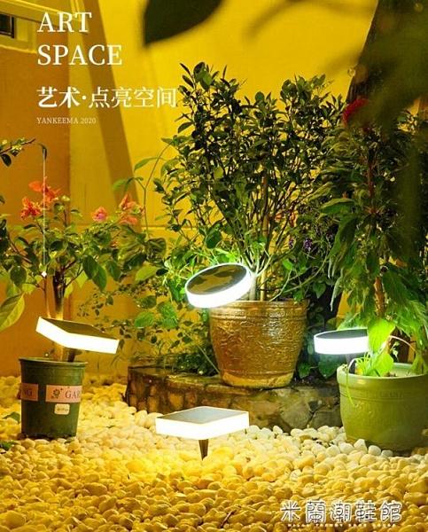 地埋燈 太陽能地埋燈戶外防水庭院燈嵌入式樓梯裝飾燈花園地插景觀草坪燈 新年禮物YYJ