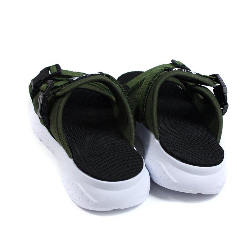 KANGOL 拖鞋 戶外 男鞋 軍綠色 厚底 6055220173 no146