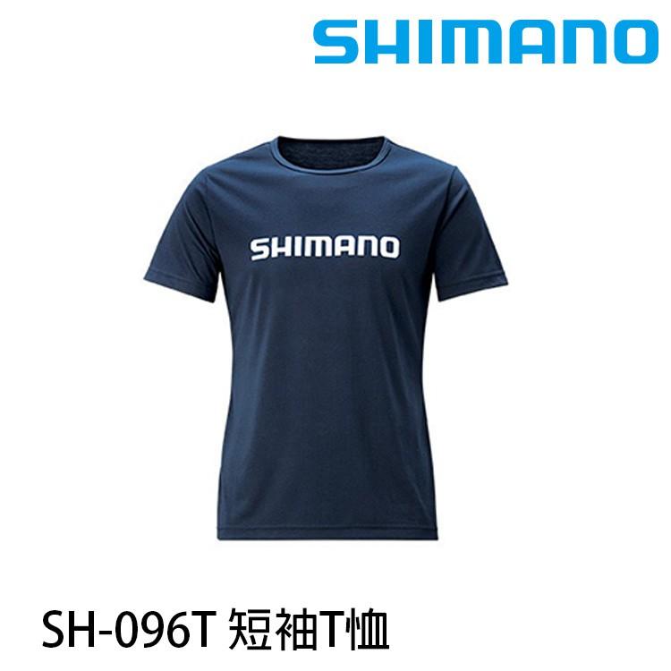 SHIMANO SH-096T 藍 [漁拓釣具 [T-SHIRT]