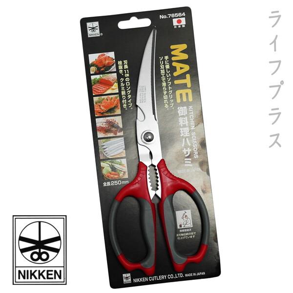 一品川流日本製nikken 多功能廚房剪刀