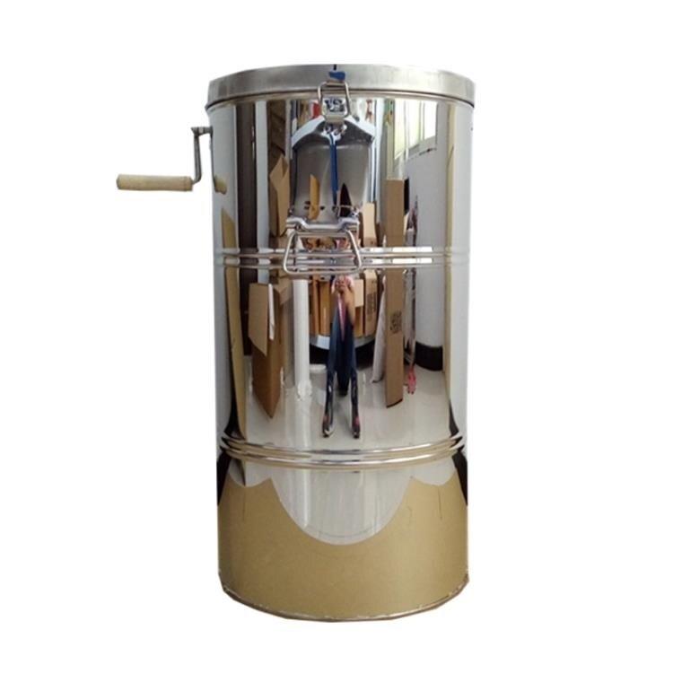 【快速出貨】搖蜜機搖蜜機304全不銹鋼加厚無縫不銹鋼搖蜜機甩蜜桶蜂蜜機蜂蜜分離機創時代3C 交換禮物 送禮