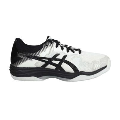 ASICS GEL-TACTIC 男排羽球鞋-2E-排球 羽球 寬楦 亞瑟士 1073A032-100 白黑