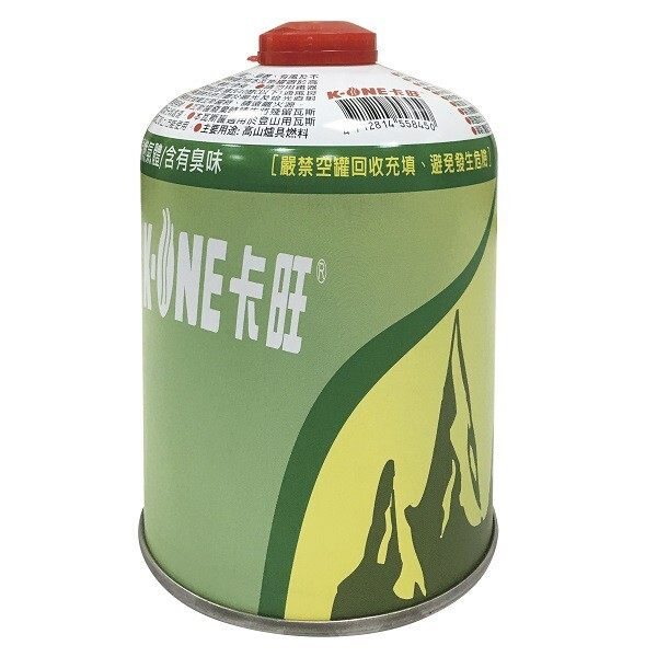 卡旺登山瓦斯罐(230g/450g) 高山瓦斯