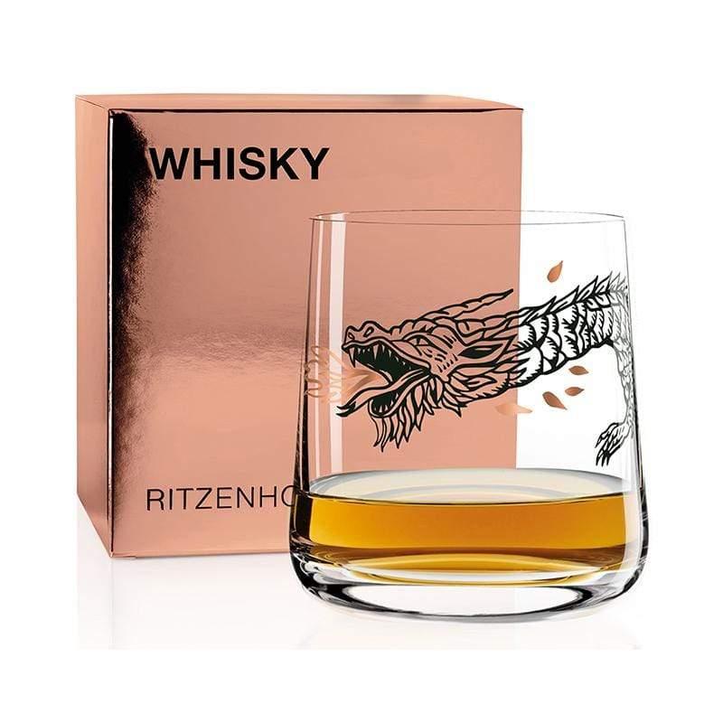威士忌酒杯 - 尼斯湖怪龍