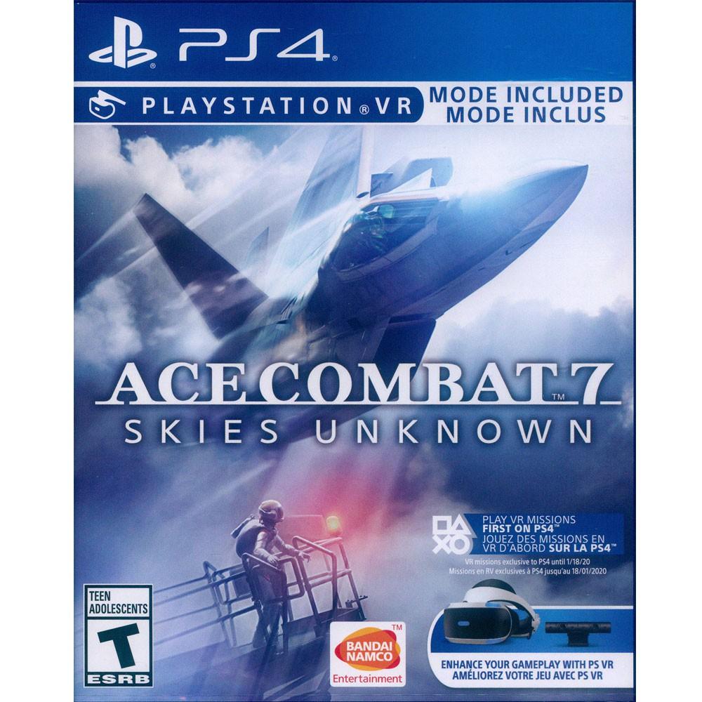 PS4 空戰奇兵 7 未知天際 英文美版 Ace Combat 7 支援VR【一起玩】