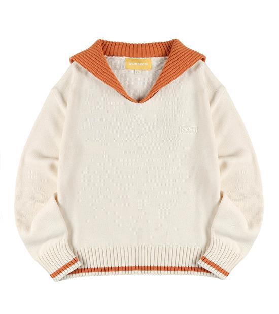 MBT0313-Sailor Collar Sweater 水手領針織毛衣