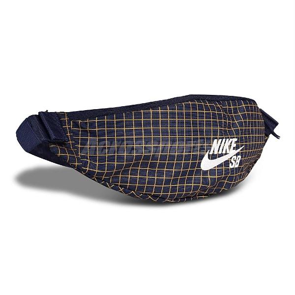 【六折特賣】NIKE 腰包 SB Waist Pack 藍 黃 男女款 外出 隨身小包 【ACS】 CK6755-410